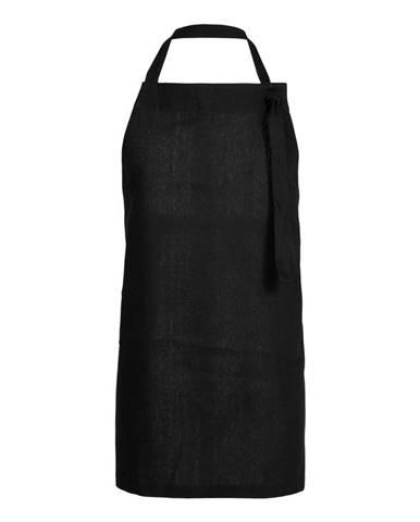 Černá kuchyňská zástěra z bavlny Södahl