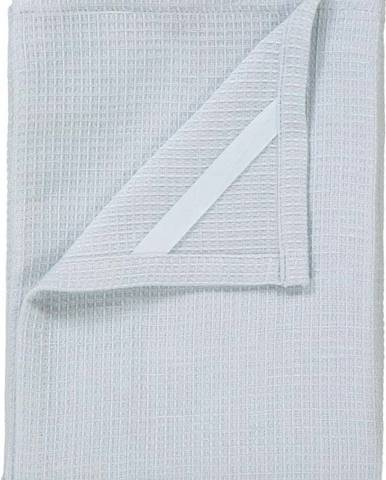 Sada 2 bílých utěrek na nádobí ze směsi bavlny a lnu Blomus, 50x70cm