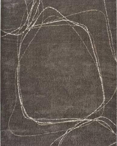 Šedý koberec Universal Moana Treo, 120 x 170 cm