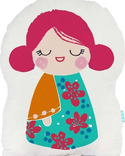 Moshi Moshi Bavlněný polštářek Moshi Moshi Cherry Blossom, 40x30cm