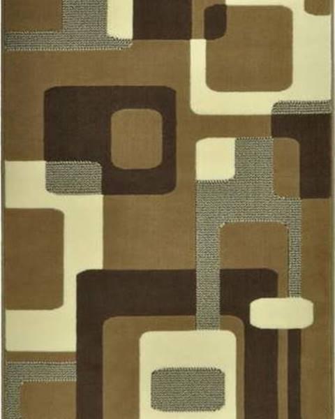 Hanse Home Hnědý koberec Hanse Home Hamla Retro, 80x300cm