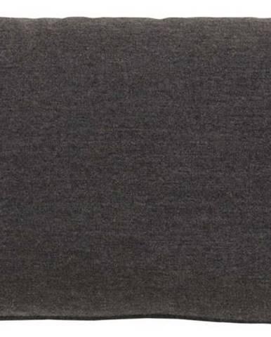 Černý zahradní polštář Hartman Samson Loin, 42 x 22 cm