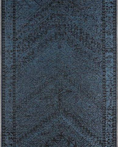 Tmavě modrý venkovní koberec Bougari Mardin, 160 x 230 cm