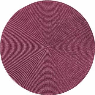 Růžové kulaté prostírání Zic Zac Round Chambray, ø38cm