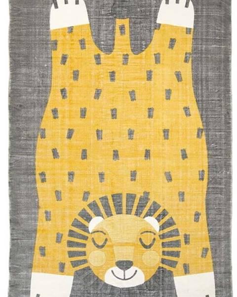 Nattiot Dětský ručně potištěný koberec Nattiot Baba, 110x170cm