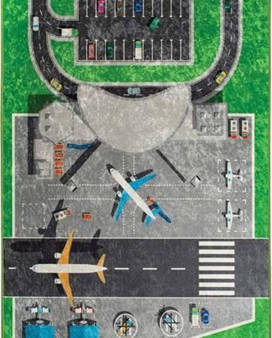Dětský koberec Airport, 100x160cm