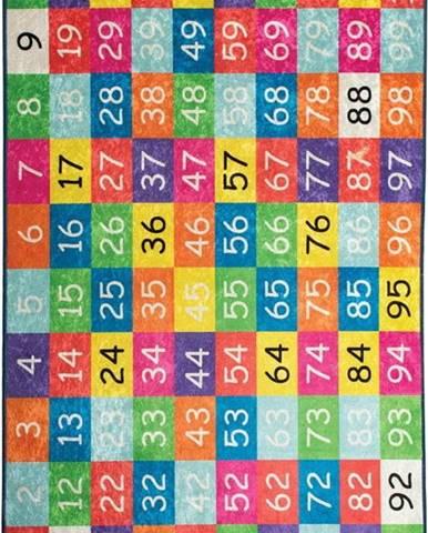 Dětský koberec Numbers, 100x160cm