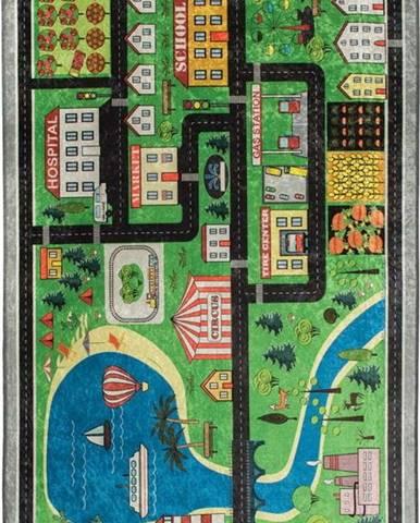 Dětský koberec Traffic, 140x190cm