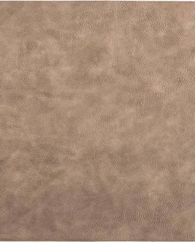Hnědé prostírání z imitace kůže ZicZac Troja Rectangle,33x45cm