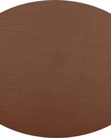 Hnědé prostírání z recyklované kůže ZicZac Titan, 33x45cm