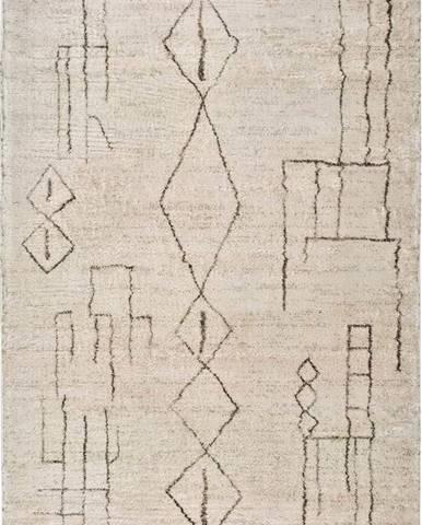 Krémový koberec Universal Moana Freo, 200 x 290 cm