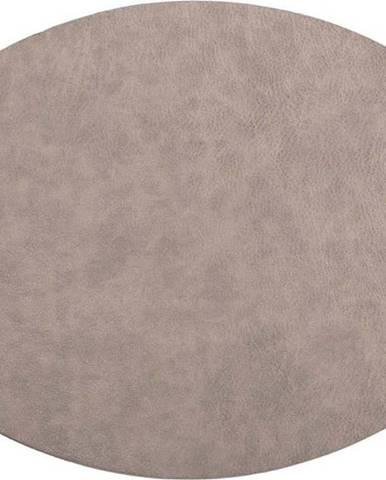 Šedé prostírání z imitace kůže ZicZac Troja,33x45cm