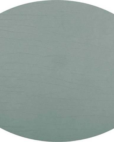 Zelené prostírání z recyklované kůže ZicZac Titan, 33x45cm