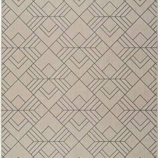 Béžový venkovní koberec Universal Silvana Caretto, 160x230cm