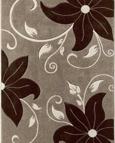Bežovohnědý koberec Think Rugs Verona, 80x150cm