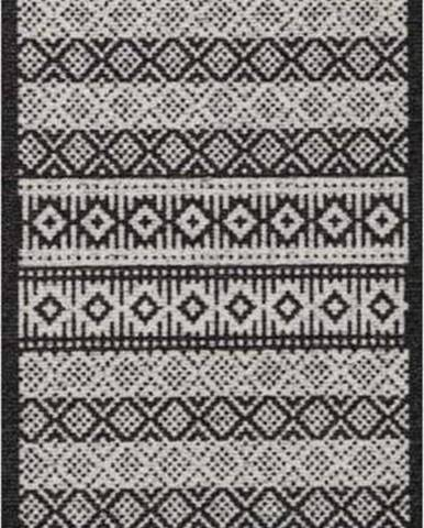 Krémovo-černý běhoun Hanse Home Cook & Clean Ella, 60x180cm