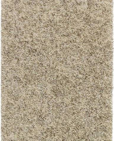 Krémový koberec Think Rugs Vista, 80x 150cm