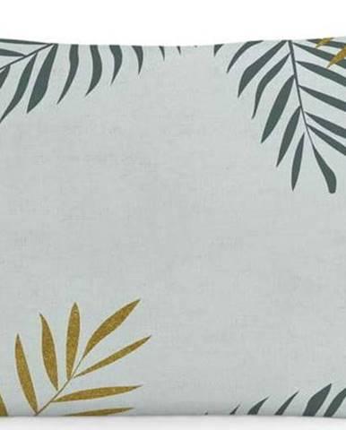 Sada 2bavlněných povlaků napolštář Blanc Foliage, 50x75cm