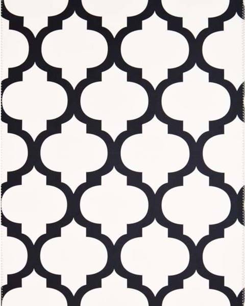 Vitaus Černobílý koberec Vitaus Jessica,80x150cm