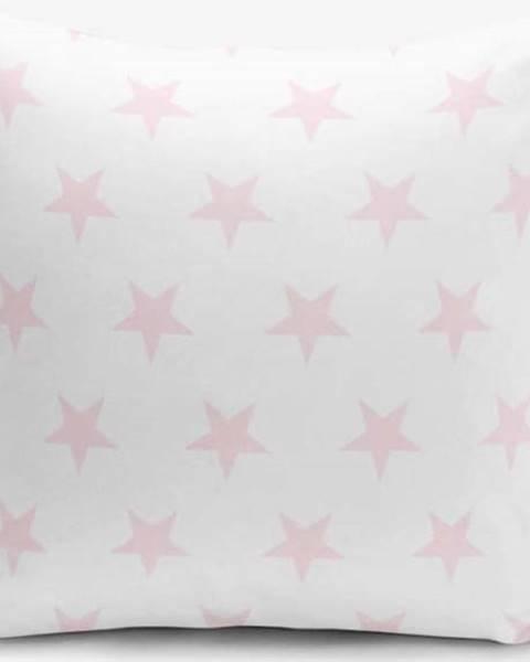 Minimalist Cushion Covers Povlak na polštář s příměsí bavlny Minimalist Cushion Covers Powder Colour Star Modern, 45 x 45 cm