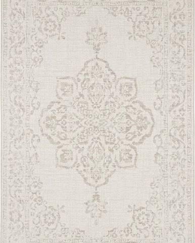 Béžový venkovní koberec Bougari Tilos, 120 x 170 cm