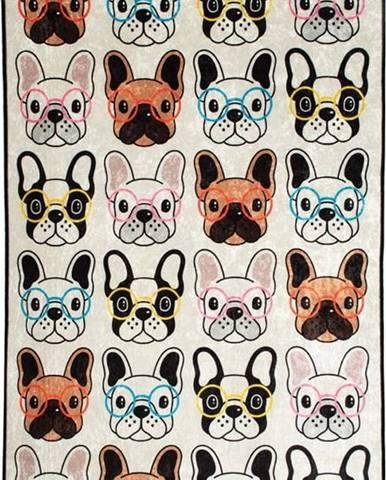 Dětský koberec Dogs, 140x190cm