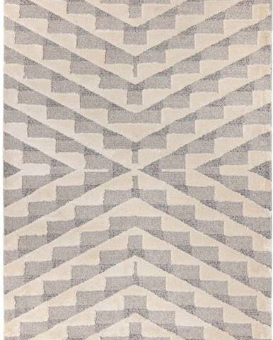 Krémově šedý koberec Flair Rugs Hampton, 80 x 150 cm