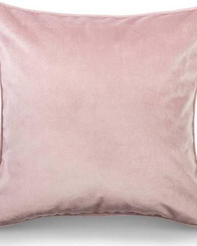 Růžový povlak na polštář WeLoveBeds Dusty, 50 x 50 cm
