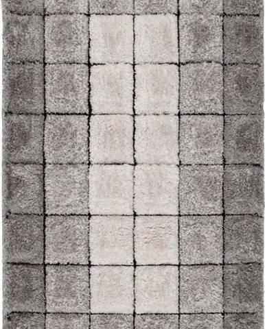Šedý koberec Flair Rugs Cube, 120 x 170 cm
