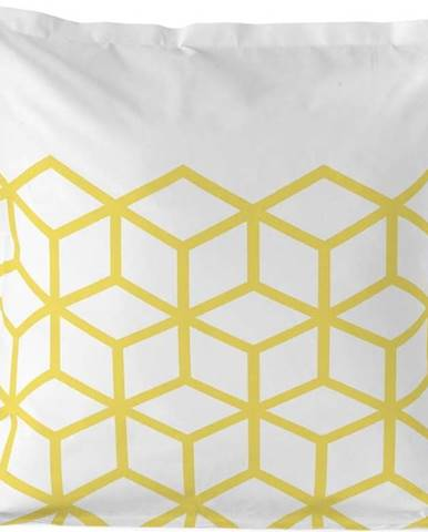 Bavlněný povlak na polštář Blanc Symmetry, 60x60cm