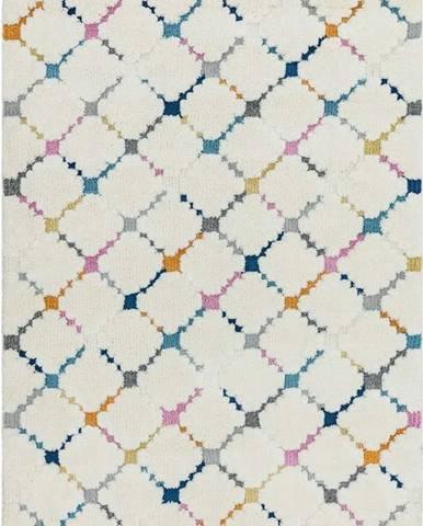 Béžový koberec Asiatic Carpets Criss Cross, 200 x 290 cm