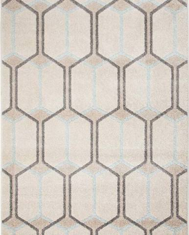 Béžový koberec Flair Rugs Urban Trellis, 100 x 150 cm