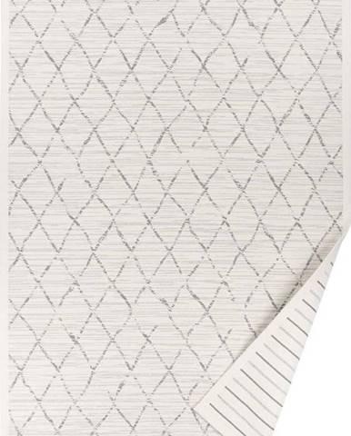 Bílý vzorovaný oboustranný koberec Narma Vao, 160 x 230cm