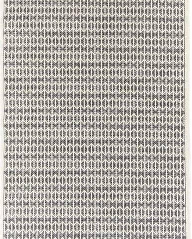 Černý venkovní koberec Floorita Stuoia, 130 x 190 cm