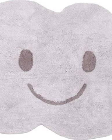 Dětský šedý koberec Nattiot Nimbus,75x115cm
