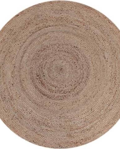 Koberec z konopného vlákna LABEL51 Natural Rug, ⌀180 cm