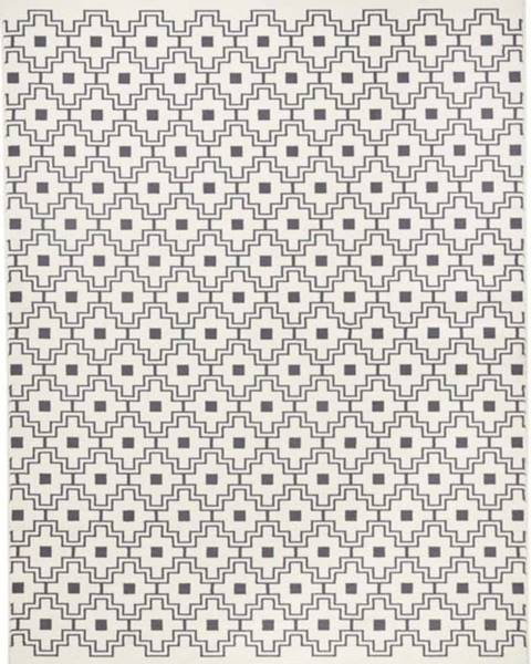 Zala Living Černobílý koberec Zala LivingCubic, 70x140cm