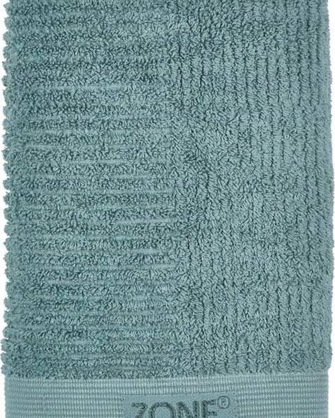 Zone Petrolejově zelený ručník Zone Classic, 50x70cm