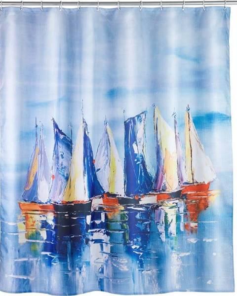 WENKO Sprchový závěs Wenko Sailing, 180x200cm