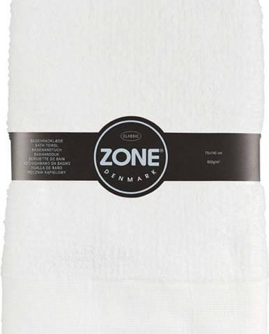 Bílá osuška Zone Classic,70x140cm