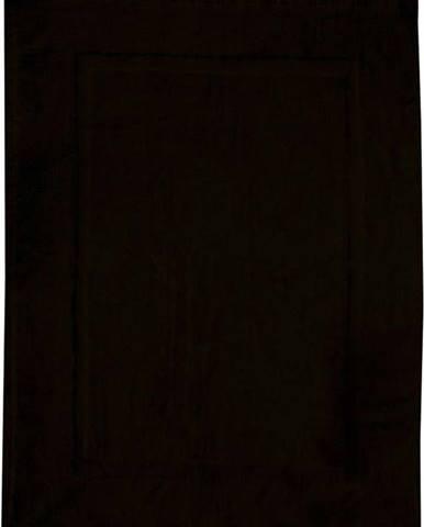 Černá bavlněná koupelnová předložka Wenko, 50x70cm