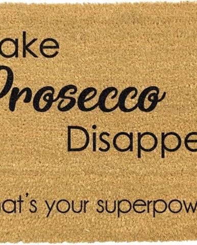 Rohožka z přírodního kokosového vlákna Artsy Doormats I Make Prosecco Disappear,40x60cm
