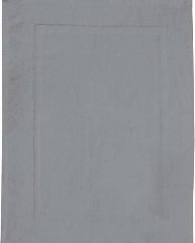 Šedá bavlněná koupelnová předložka Wenko, 50x70cm