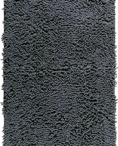Šedá koupelnová předložka Wenko Chenille, 80x50cm