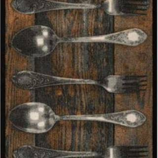 Kuchyňský běhoun Bougari Cook & Clean Spoony, 150 x 50 cm