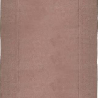 Růžový vlněný koberec Flair Rugs Siena, 160 x 230 cm