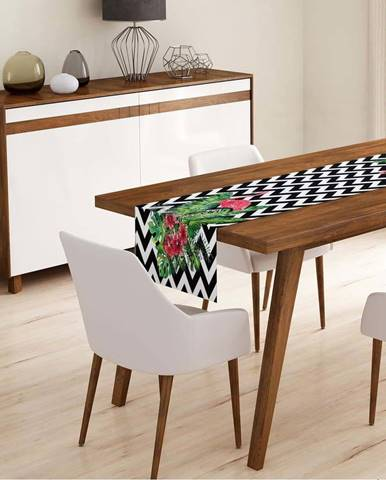Běhoun na stůl z mikrovlákna Minimalist Cushion Covers Cismo, 45x145cm