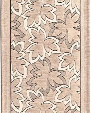 Béžový běhoun Floorita Maple, 55 x 115 cm