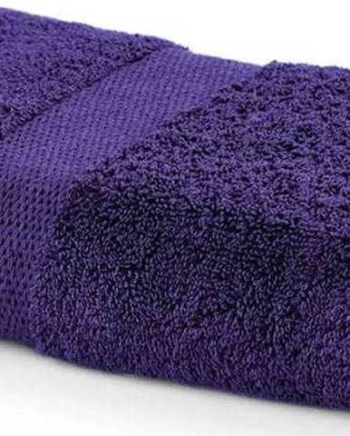 Fialový ručník DecoKing Marina, 50 x 100 cm