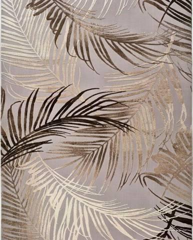 Šedý koberec Universal Izar, 140x200cm